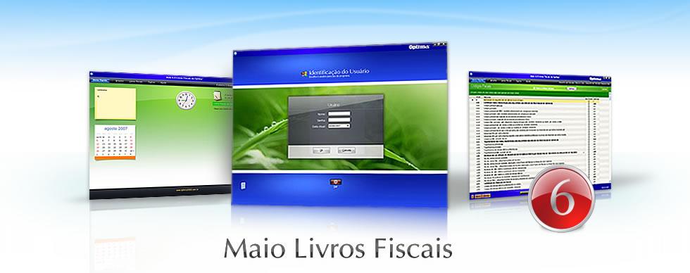 Maio - Livros Fiscais 6.0 da Optima